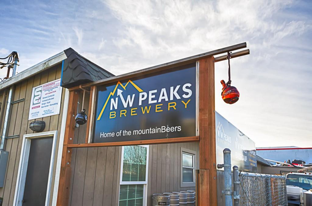 NWPeaks sign